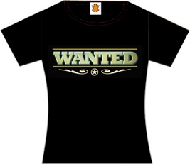 wanted womens shirt
